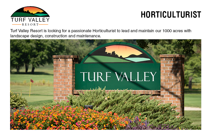 Horticulturist Grounds Jobs In Ellicott City Md Turf Valley Resort